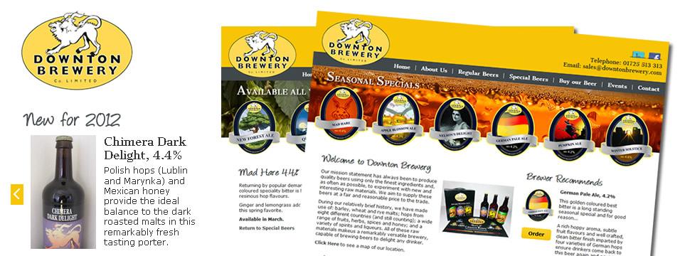 Brewery Web Site Development
