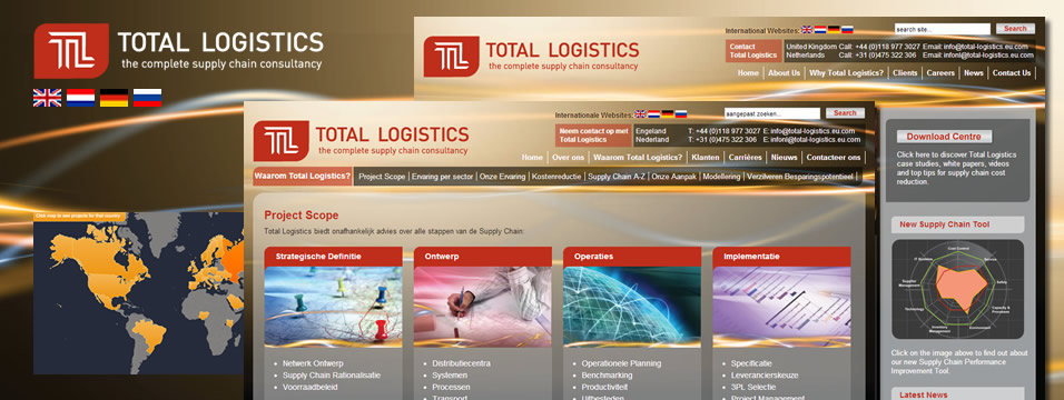 Logistics Web Development